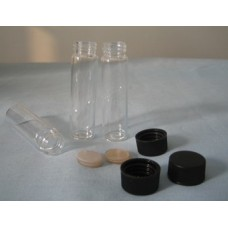 Glass vials with screw cap(septa liner) 8 ml,16.6x61mm,Neck 15-425-thread,200C