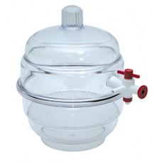 PP/PC desiccator for vacuum,150mm diameter,clear Top
