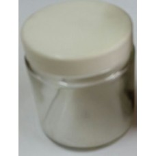 Glass Jar/Container 120ml,plastic closure,no label