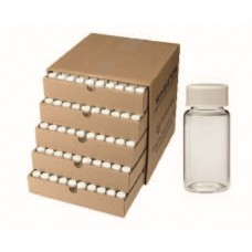 Glass vials with  PP screw cap,metal/pulp insert,20 ml,28x61mm(with cap),for scintilation