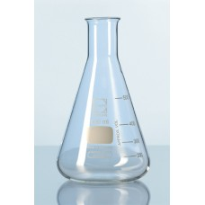 Erlenmeyer 3000ml borosilicate Printed graduations