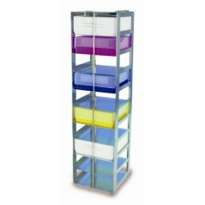 Chest-freezer rack 60cm, for (one column)11 boxes 5cm,total height;66cm