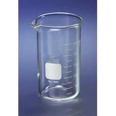 Beaker 1000ml Borosilicate high form,spout & printed graduation