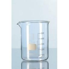Beaker 50ml pyrex low form