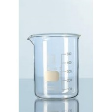 Beaker 600ml pyrex low form