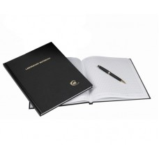 Notebook grid,100 pages, Black