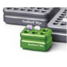 CoolRack  M6 for 6.5-2.0 microtubes,(L x W x H): 6.0 x 4.3 x 3.8 cm