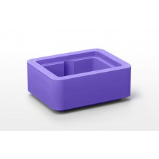 Extension collar for CoolBox XT workstation ,Purple